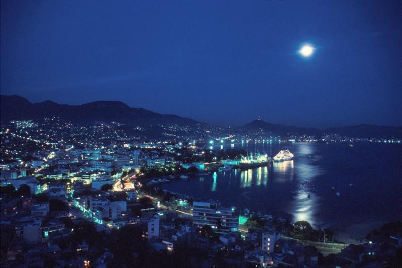 Курортный город - Акапулько