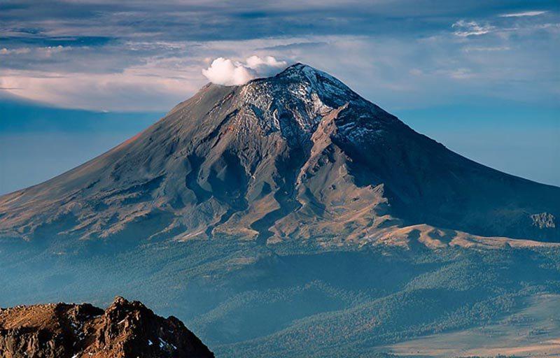 Вулкан Попокатепетль (фото)