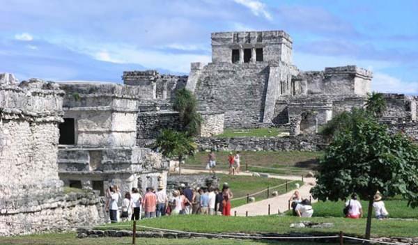 Мексика древние руины майя