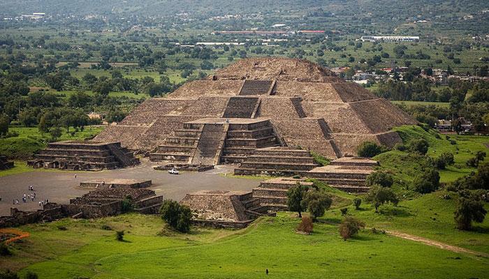 Пирамида в Теотиуакане