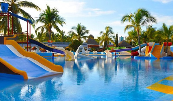Аквапарк в Мексике