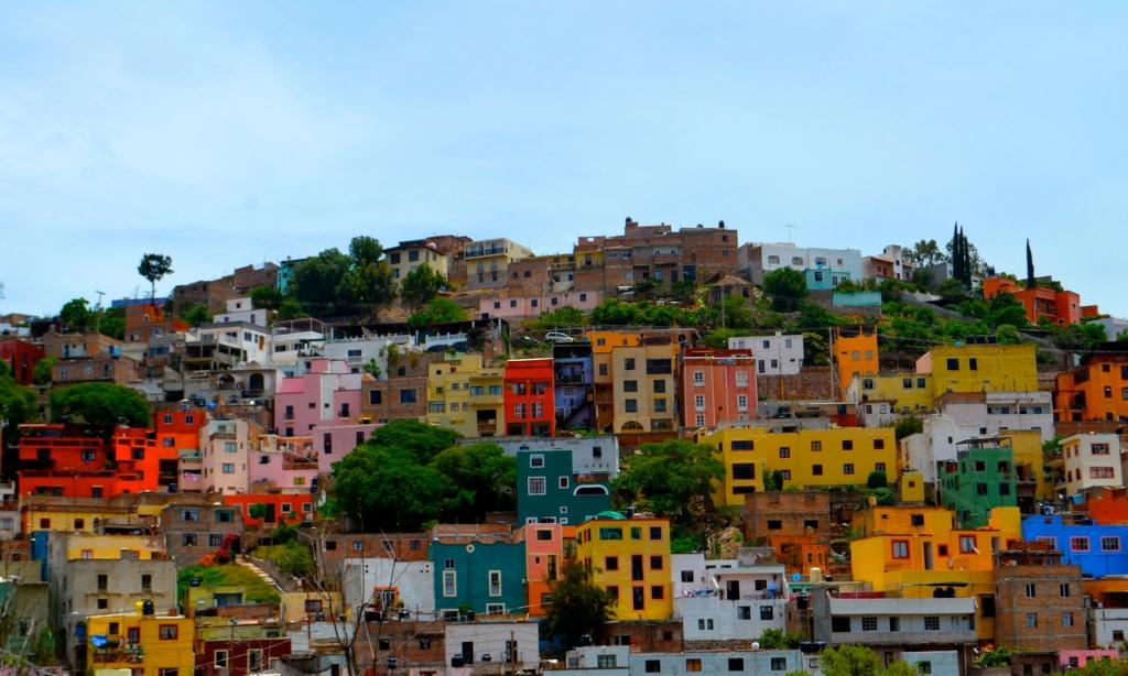 Дома мексики фото
