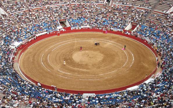 Крупнейшая арена корриды в Мексике