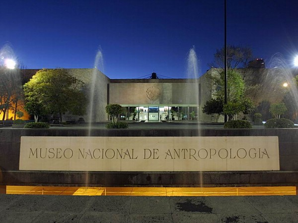 Музей антропологии в Мексике