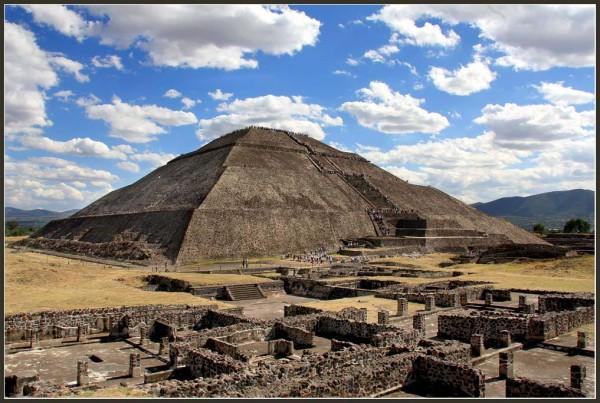Пирамида солнца Теотиукан