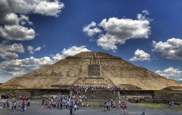 Теотиукан, Пирамида солнца