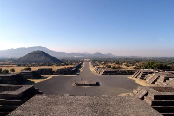 Цитадель, пирамида Солнца