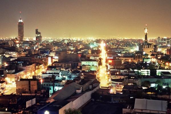 Мехико ночью-2