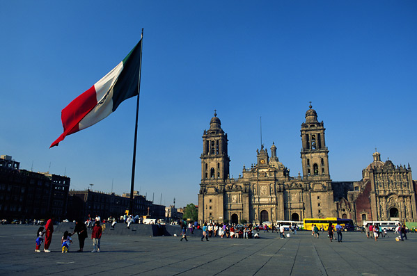 Мехико площадь