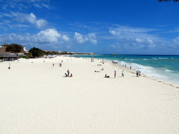 Плайя дель Кармен пляж