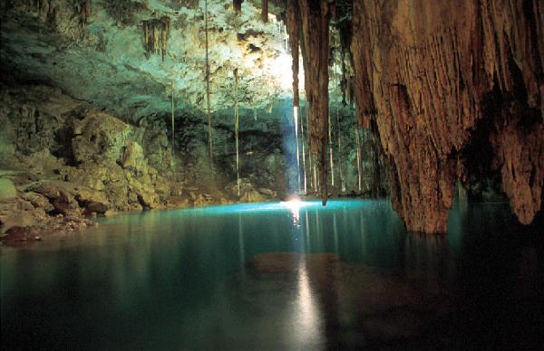 Юкатан сеноты и пещеры