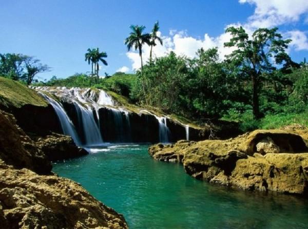 Мексика водопад