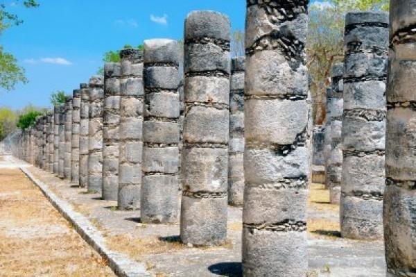 Мексика, храм воинов