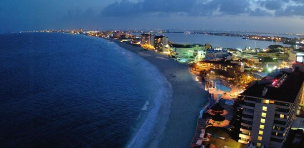 Канкун пляж Мексика