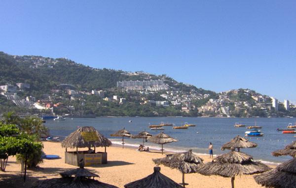 Пляж Акапулько Мексика