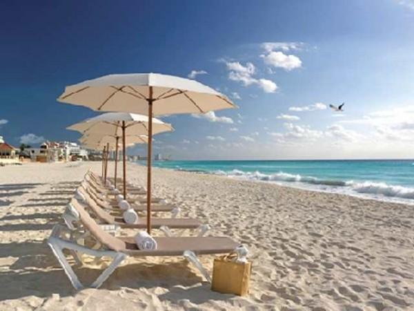 Пляж Канкуна Мексика