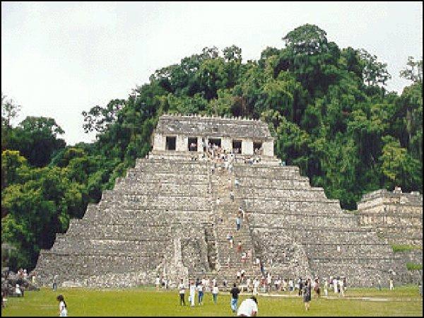 Паленке город Майя