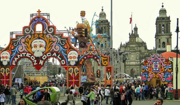 День мертвых в  Мексике-3
