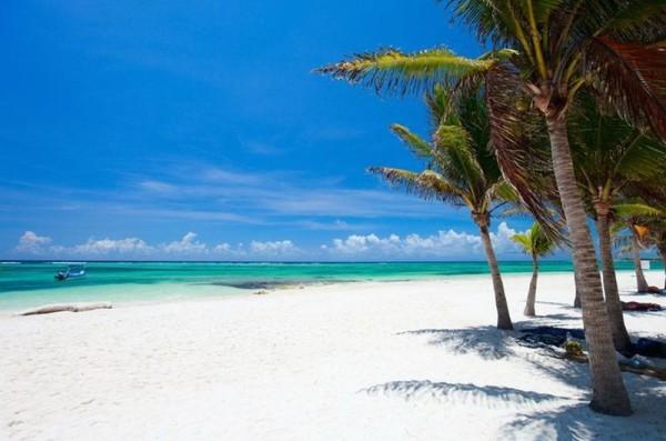 Мексика райские пляжи