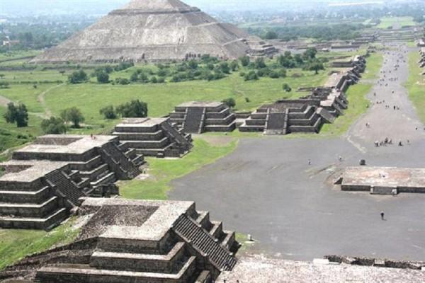 Теотиукан Мексика
