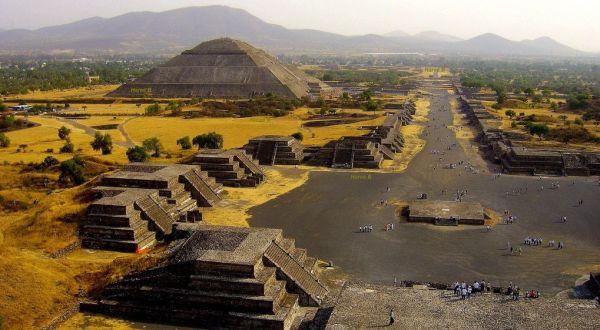 Мексика, город Теотиуакан