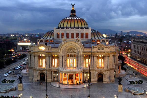Three movie theaters in mexico city