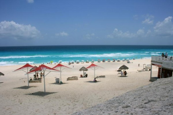 Дельфиний пляж Мексика