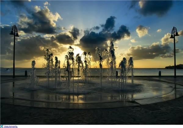 Закат в Канкуне