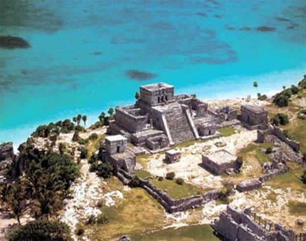 Мексика пирамиды Майя