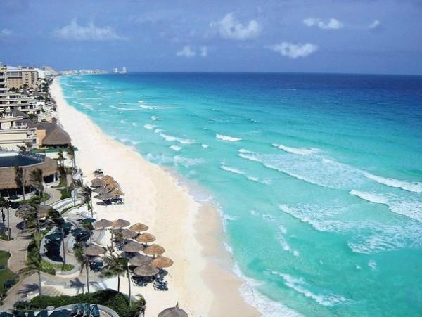 пляж улитка Мексика