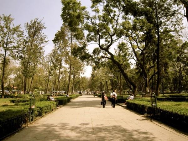 старейший парк Мехико — Аламедо
