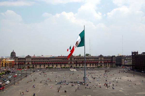 Площадь Сокало Мехико